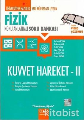 Çap Yayınları - Fizik - Kuvvet Hareket 2 Konu Anlatımlı Soru Bankası