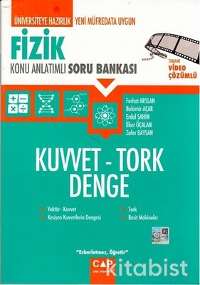 Çap Yayınları - Fizik - Kuvvet Tork Denge Konu Anlatımlı Soru Bankası