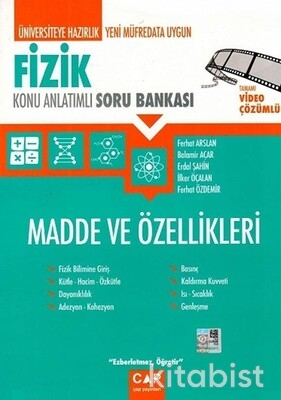 Çap Yayınları - Fizik - Madde ve Özellikleri Konu Anlatımlı Soru Bankası