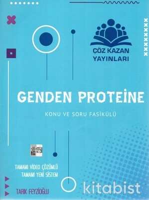 Çöz Kazan Yayınları - Genden Proteine Konu ve Soru Fasikülü