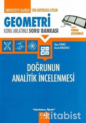 Çap Yayınları - Geometri - Doğrunun Analitik İncelenmesi Konu Anlatımlı Soru Bankası