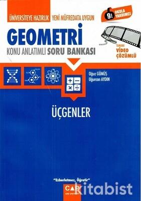 Çap Yayınları - Geometri - Üçgenler Konu Anlatımlı Soru Bankası