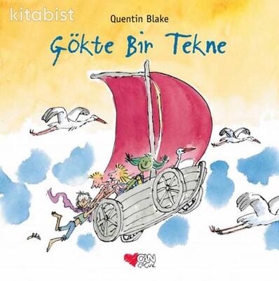 Can Çocuk Yayınları - Gökte Bir Tekne