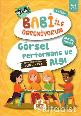 Bi Kutu Oyun - Görsel Performans ve Algı - Babi ile Öğreniyorum 1.Kitap