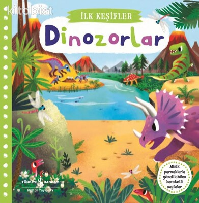 İş Bankası Yayınları - Hareketli Dinozorlar