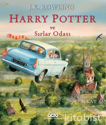 Yapıkredi Yayınları - Harry Potter ve Sırlar Odası - 2 (Resimli Özel Baskı)