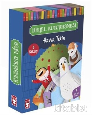 Timaş Çocuk Yayınları - Hayal Kütüphanesi Seti - 5 Kitap Takım