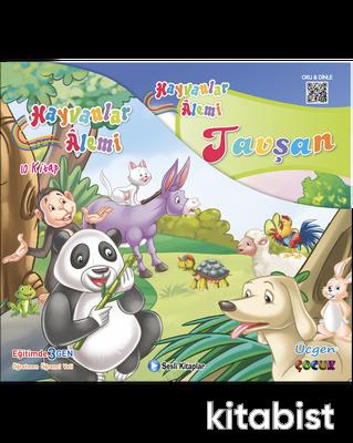 Üçgen Çocuk - HAYVANLAR ALEMİ SERİSİ - Kutulu 10 Kitap