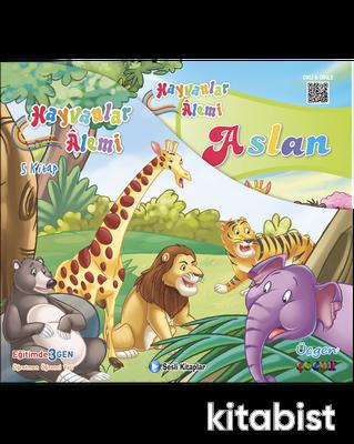 Üçgen Çocuk - HAYVANLAR ALEMİ SERİSİ - Kutulu 5 Kitap