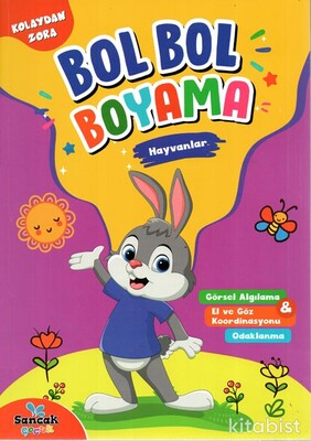 Hayvanlar - Bol Bol Boyama