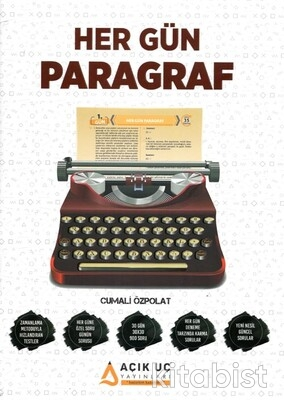 Açık Uç Yayınları - Her Gün Paragraf Soru Bankası