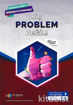 Antrenman Yayınları - Hiç Problem Değil Tamamı Çözümlü