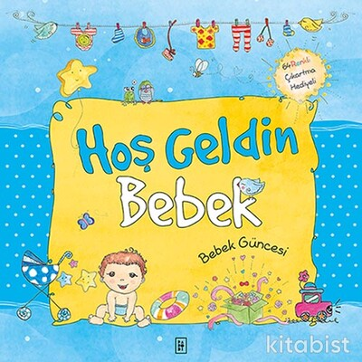 Parodi Yayınları - Hoş Geldin Bebek (Ciltli)
