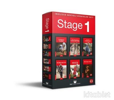 Mk Publications - İngilizce Seviyeli Hikayeler Seti - Stage 1