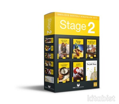 Mk Publications - İngilizce Seviyeli Hikayeler Seti - Stage 2