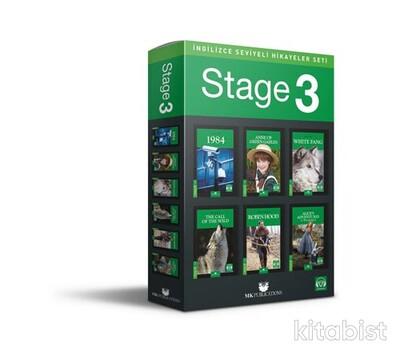 Mk Publications - İngilizce Seviyeli Hikayeler Seti - Stage 3