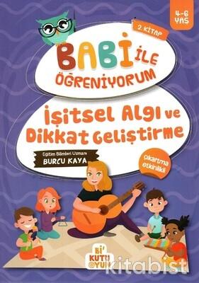 Bi Kutu Oyun - İşitsel Algı ve Dikkat Geliştirme - Babi İle Öğreniyorum 2. Kitap