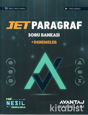 Avantaj Yayınları - Jet Paragraf Soru Bankası + Denemeler