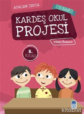 Mavi Kirpi Kitap - Kardeş Okul Projesi-Afacan Tayfa 1. Sınıf Okuma Kitabı