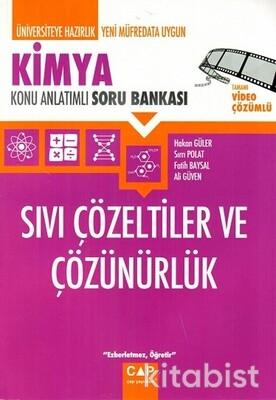 Çap Yayınları - Kimya - Sıvı Çözeltiler ve Çözünürlük Konu Anlatımlı Soru Bankası