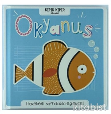 Doğan Egmont Yayınları - Kıpır Kıpır Kitaplar Okyanus