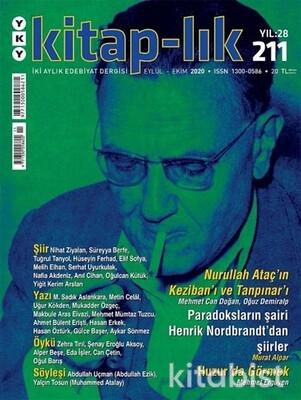 Yapıkredi Yayınları - Kitaplık Sayı 211 / Eylül-Ekim 2020