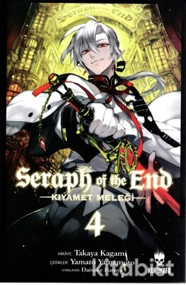 Kurukafa Yayınları - Kıyamet Meleği Seraph Of The End Cilt4