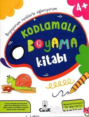 Floki Çocuk - Kodlamalı Boyama Kitabı