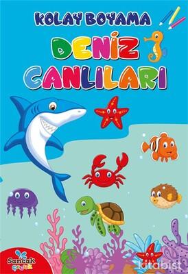 Kolay Boyama - Deniz Canlıları