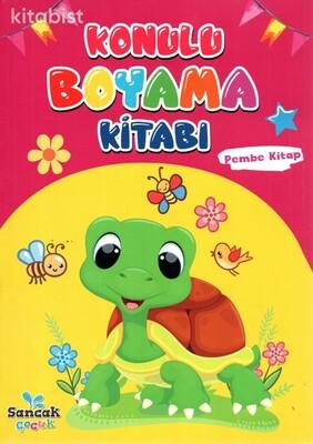 Sancak Çocuk - Konulu Boyama Kitabı-Pembe Kitap