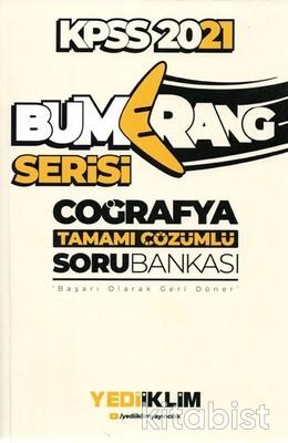Yedi İklim Yayınları - KPSS 2021 Bumerang Serisi Coğrafya Soru Bankası