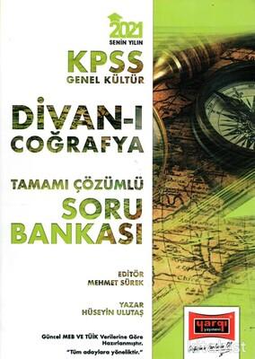 Yargı Yayınları - KPSS 2021 Divan-ı Coğrafya Tamamı Çözümlü Soru Bankası