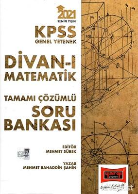Yargı Yayınları - KPSS 2021 Divan-ı Matematik Tamamı Çözümlü Soru Bankası