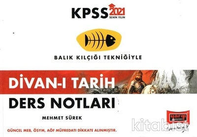 Yargı Yayınları - KPSS 2021 Divan-ı Tarih Ders Notları