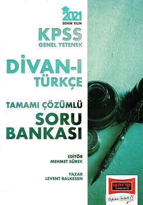 Yargı Yayınları - KPSS 2021 Divan-ı Türkçe Tamamı Çözümlü Soru Bankası
