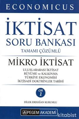 Pegem Yayınları - KPSS 2021 Economıcus İktisat(Mikro İktisat)Tamamı Çözümlü Soru Bankası