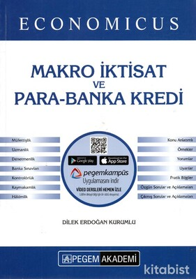 Pegem Yayınları - KPSS 2021 Economıcus Makro İktisat ve Para-Banka-Kredi Konu Anlatımı