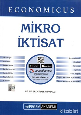 Pegem Yayınları - KPSS 2021 Economıcus Mikro İktisat Konu Anlatımı