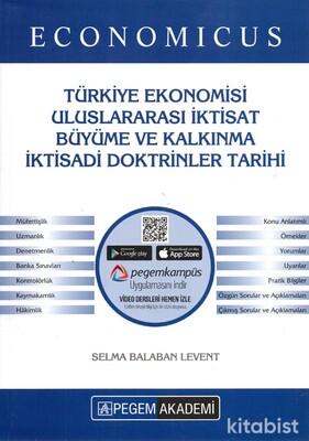 Pegem Yayınları - KPSS 2021 Economıcus Türkiye Ekonomisi Uluslararası İktisat Büyüme ve Kalkınma İktisadi Doktrinler Tarihi