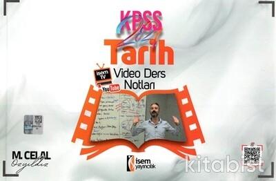 İsem Yayıncılık - KPSS 2021 Evveliyat Tarih Video Ders Notları
