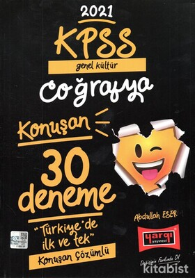 Yargı Yayınları - KPSS 2021 Genel Kültür Coğrafya Konuşan 30 lu Deneme
