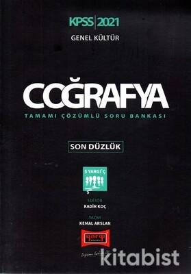 Yargı Yayınları - KPSS 2021 Genel Kültür Coğrafya Tamamı Çözümlü Soru Bankası