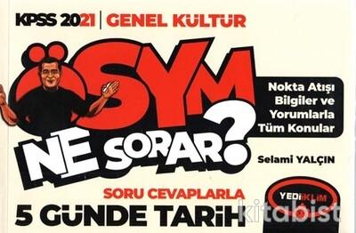 Yedi İklim Yayınları - KPSS 2021 Genel Kültür Soru Cevaplarla 5 Günde Tarih