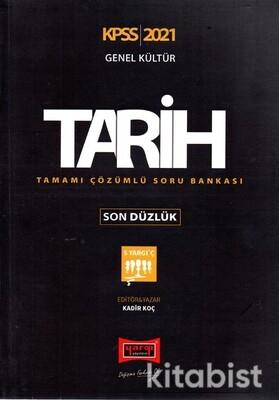 Yargı Yayınları - KPSS 2021 Genel Kültür Tarih Tamamı Çözümlü Soru
