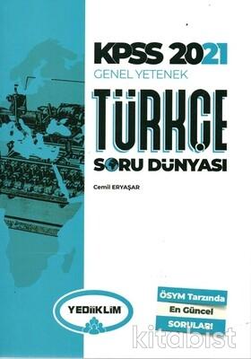 Yedi İklim Yayınları - KPSS 2021 Genel Kültür Türkçe Soru Dünyası