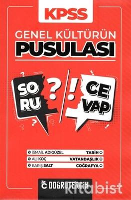 Doğru Tercih Yayınları - KPSS 2021 Genel Kültürün Pusulası Soru Cevap Kitab