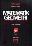 Yargı Yayınları - KPSS 2021 Genel Yetenek Matematik-Geometri Tamamı Çözümlü Soru Bankası