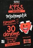 Yargı Yayınları - KPSS 2021 Genel Yetenek Matematik Konuşan 30 lu Deneme