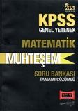 Yargı Yayınları - KPSS 2021 Genel Yetenek Muhteşem Matematik Soru Bankası