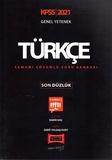 Yargı Yayınları - KPSS 2021 Genel Yetenek Türkçe Tamamı Çözümlü Soru Bankası